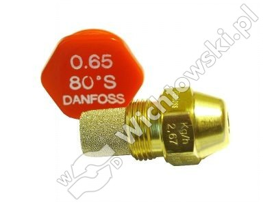 nozzle oil DANFOSS - 0.65/80ÂşS