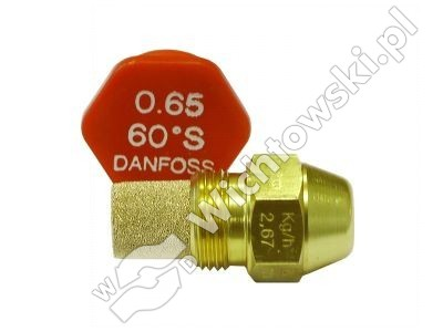 nozzle oil DANFOSS - 0.65/60ÂşS