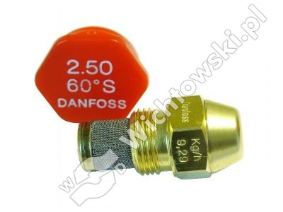 nozzle oil DANFOSS - 2.50/60ÂşS