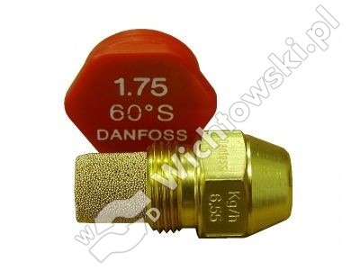 nozzle oil DANFOSS - 4.00/60ÂşS