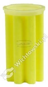 The contribution of the oil filter foam 50-70 Îźm