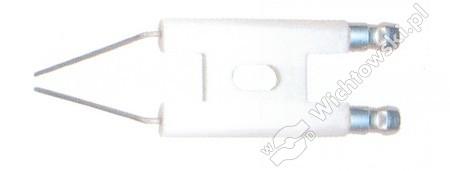 Ignition electrode double burner R1
