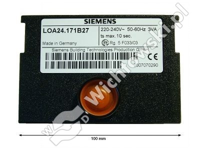 Control Box Landis&Gyr LOA21 - 4031.005