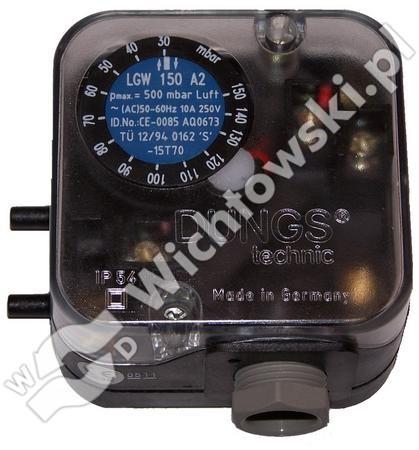 Pressure switch  LGW 150 A2