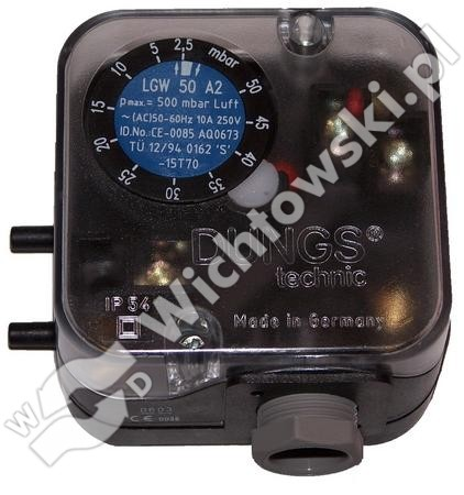 Pressure switch LGW 50 A2