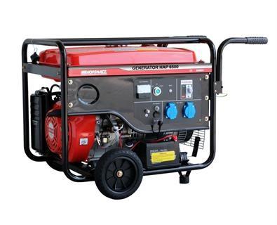 Agregat prądotwórczy HAP 6500 (R. akumulatorowy)