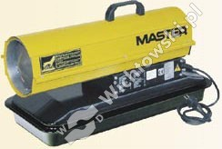 MASTER B 65 CEL direct oil heater with thermostat