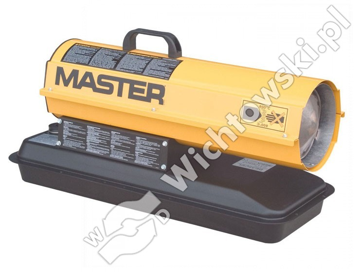 MASTER B 35 CED direct oil heater